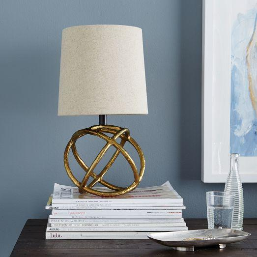 Westelm Lamps: Mini Geodesic Table Lamp
