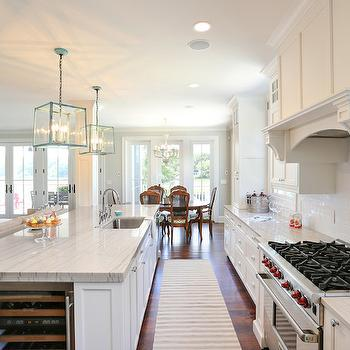 Island Wine Fridge, Transitional, kitchen, Charleston Home and Design