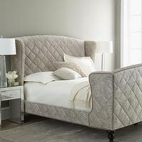 Jefferson Sleigh Bed Pottery Barn