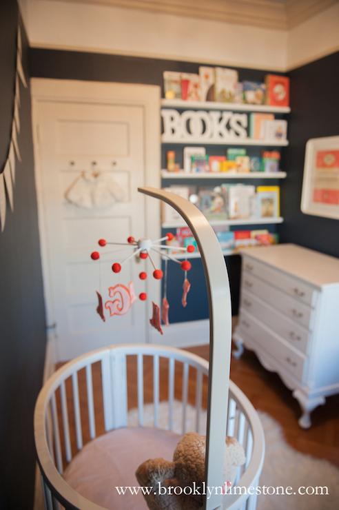 Navy nursery letters : ... letters, nursery wood oval crib, white crib