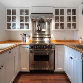 Wood Countertops, Cottage, kitchen, Hyde Evans Design