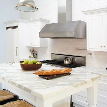 Kitchen Island with Legs, Transitional, kitchen, Courtney Giles Interiors