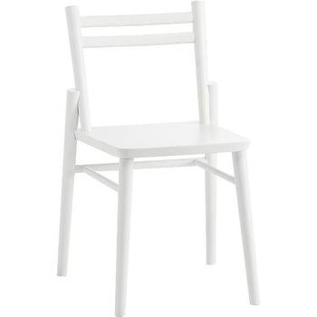 Seating Torii Chair Cb2 White Dining Chair