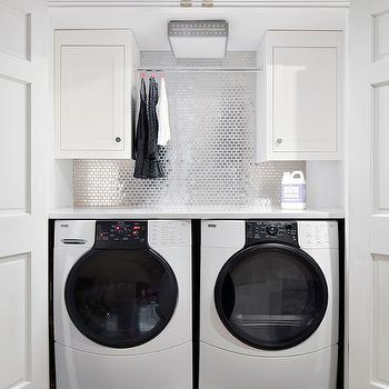 Closet Washer Dryer, Contemporary, laundry room, Clean Design Partners
