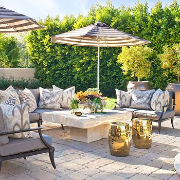 Klismos Sofa, Contemporary, deck/patio, Jeff Andrews Design