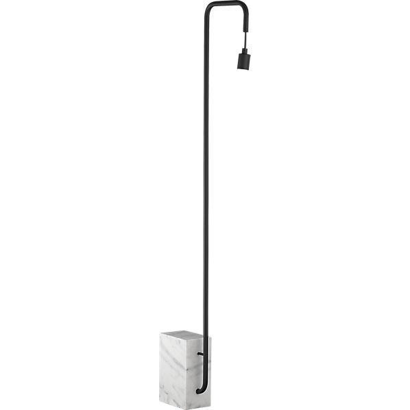 Marble floor lamp cb2 for Cb2 orange floor lamp