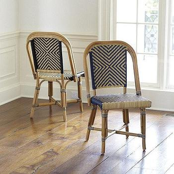 Set of 2 Paris Bistro Chairs, Ballard Designs