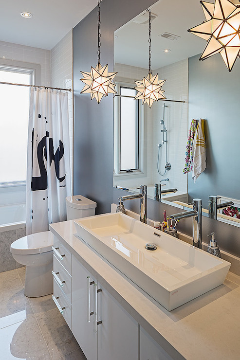 Trough Sink Contemporary bathroom Peter A Seller