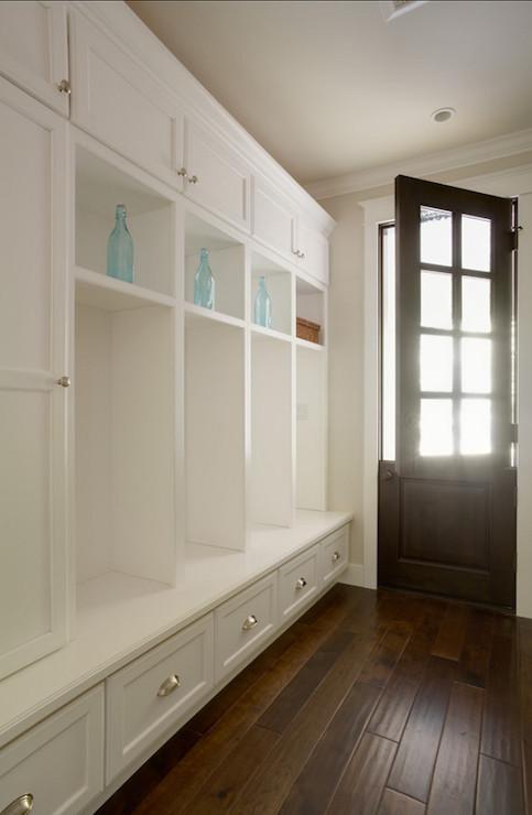 Mudroom Lockers Transitional Laundry Room Allwood