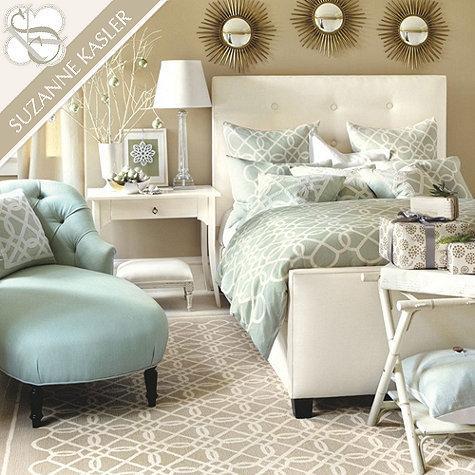 suzanne kasler quatrefoil duvet ballard designs jardin toile quilt bedding
