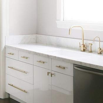 Brass Cabinet Pulls, Transitional, kitchen, Croma Design