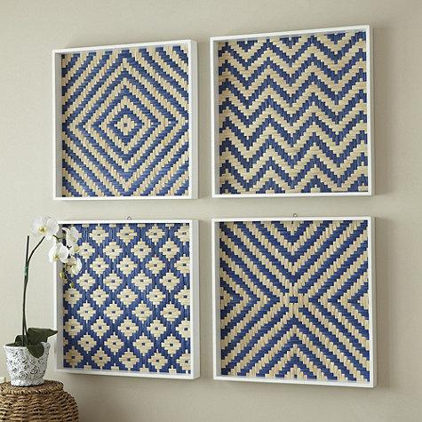 Basket weave art plaque ballard designs - Decorative basket wall art ...