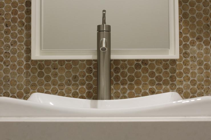penny cork tiles contemporary bathroom brown eyed fox