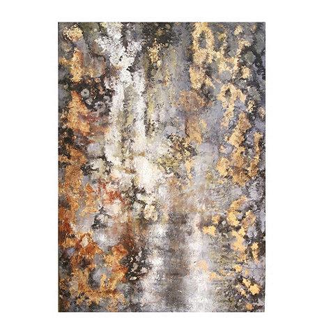 Amber Bark Hand Painted Canvas Ballard Designs