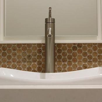 cork tiles contemporary bathroom brown eyed fox