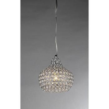 Lighting - Kiss Crystal Chandelier | Overstock.com - beaded crystal chandelier, crystal chandelier pendant, beaded crystal pendant,