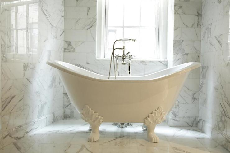 Clawfoot Tub - Transitional - bathroom - The Renovated Home