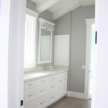Jack and Jill Bathroom, Transitional, bathroom, Frazee Paint Seattle, Sunny Side Up