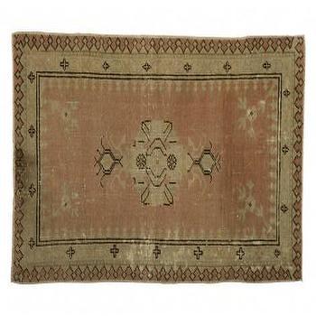 Rugs - Vintage Oushak Rug I Jayson Home - vintage turkish rug, vintage oushak rug, vintage turkish oushak rug,