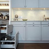 Built In Cutting Board - Transitional - kitchen - Scott ...
