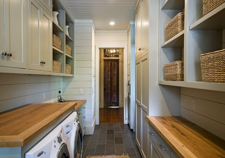 Galley Laundry Room Country Laundry Room The Berry Group