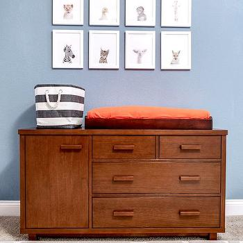 Dresser Changing Table, Contemporary, nursery, Pulp Design Studios