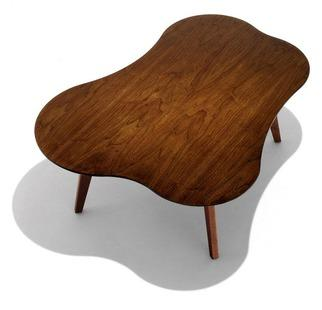Tables - Knoll Risom Amoeba Shaped Coffee Table | 2Modern - amoeba shaped coffee table, poplar coffee table, modern poplar coffee table,