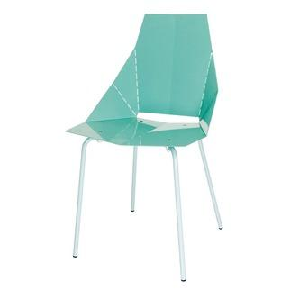 Seating - Blu Dot Real Good Chair | 2Modern - aqua blue chair, modern aqua blue chair, see through aqua blue chair,