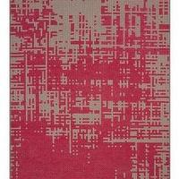 Rugs - Gandia Blasco Canevas Abstract Rug | 2Modern - pink and gray wool rug, pink and gray abstract rug, pink and gray modern rug, pink and gray abstract area rug,