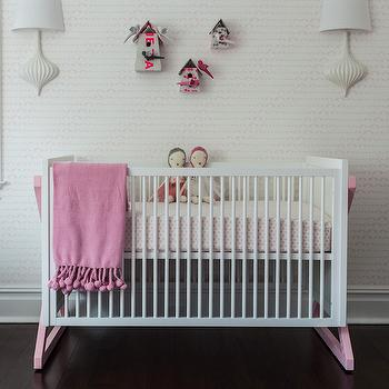 Campaign Crib, Contemporary, nursery, Sissy and Marley