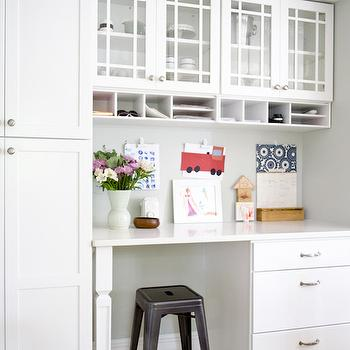 Kitchen Office, Transitional, kitchen, Curbly