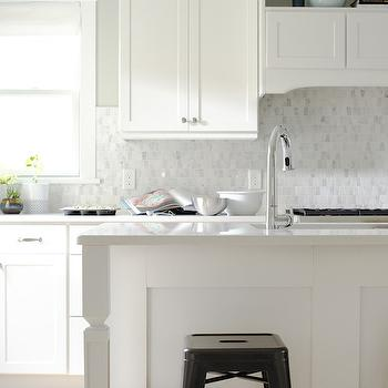 Frosty Carrina, Transitional, kitchen, Sherwin Williams Aloof Gray, Curbly