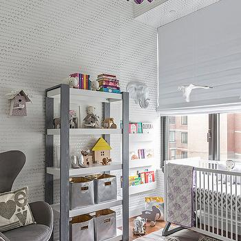 Purple Chandelier, Contemporary, nursery, Sissy and Marley