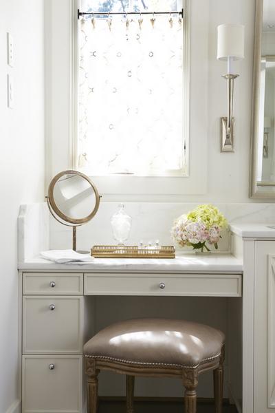 Make Up Vanity Traditional Bathroom Jan Ware Designs