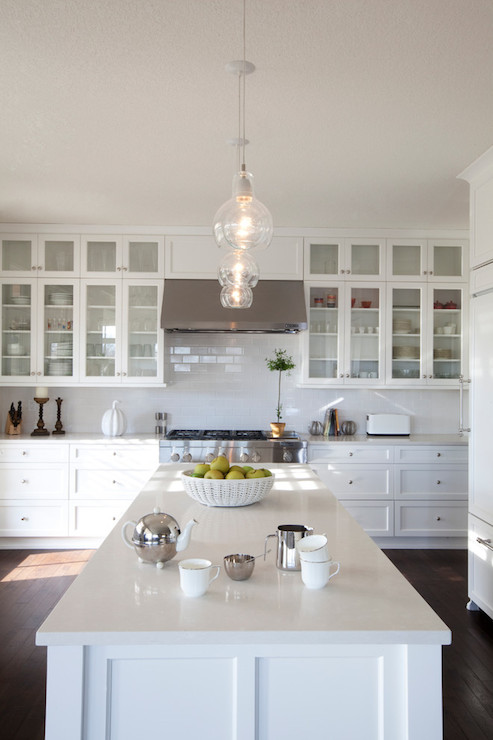 Stacked Cabinets Transitional Kitchen R Cartwright Design