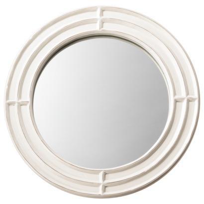 Threshold Beveled Groove Mirror Cream I Target