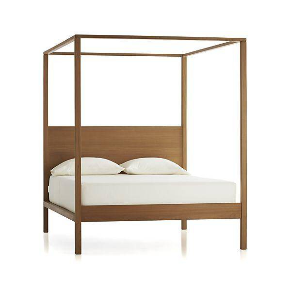 Osborn 4 Poster Queen Bed Crate And Barrel
