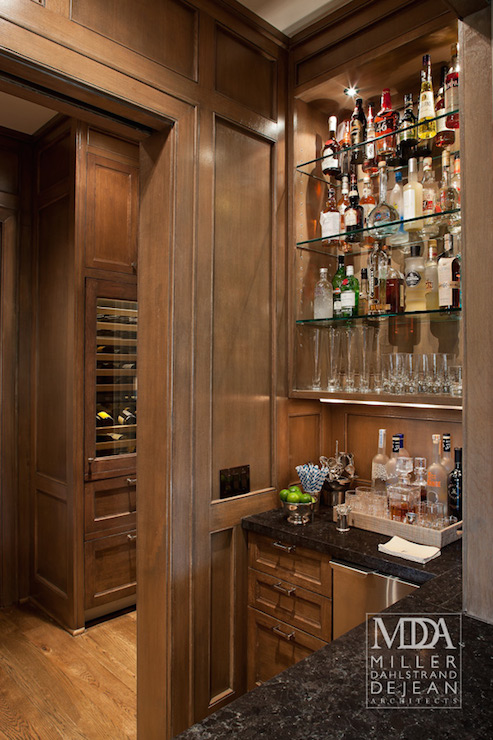 Butler S Pantry Nook Traditional Kitchen Mdd Architects