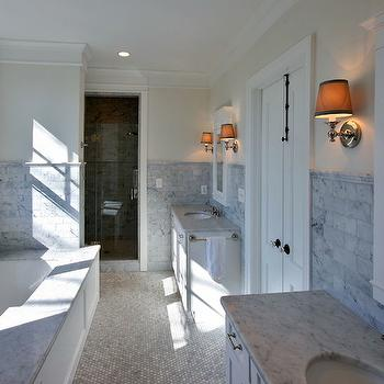 Long Bathrooms, Transitional, bathroom, Block Builders Group