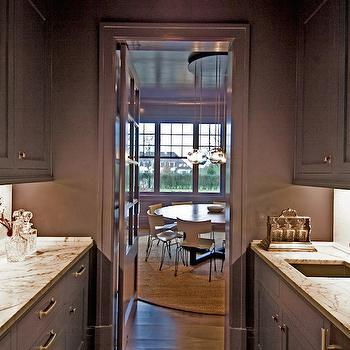 Gray Butlers Pantry, Contemporary, kitchen, Benco Construction