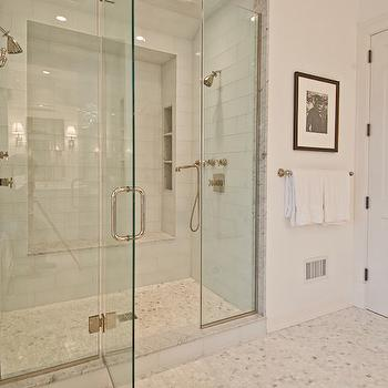 Shower for Two, Transitional, bathroom, Benco Construction