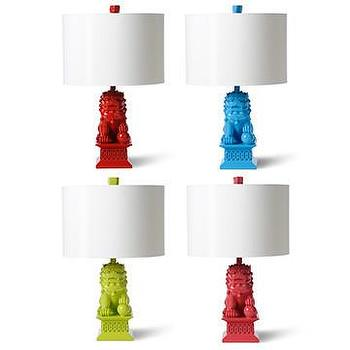 Happy Chic By Jonathan Adler Elizabeth Foo Dog Lamp I Jcpenney