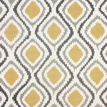 Rugs - Retro Garden 100% Polyester Area Rug in Sunflower design by NuLoom I Burke Decor - gray white and yellow modern rug, gray white and mustard yellow rug, gray white and yellow geometric rug, gray white and yellow contemporary rug,