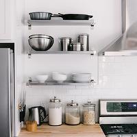 Beech kitchen cabinets contemporary kitchen apartment therapy - Ikea beech kitchen cabinets ...