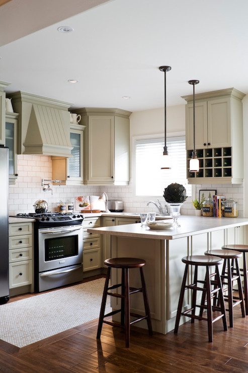 light taupe cabinets transitional kitchen toronto. Black Bedroom Furniture Sets. Home Design Ideas
