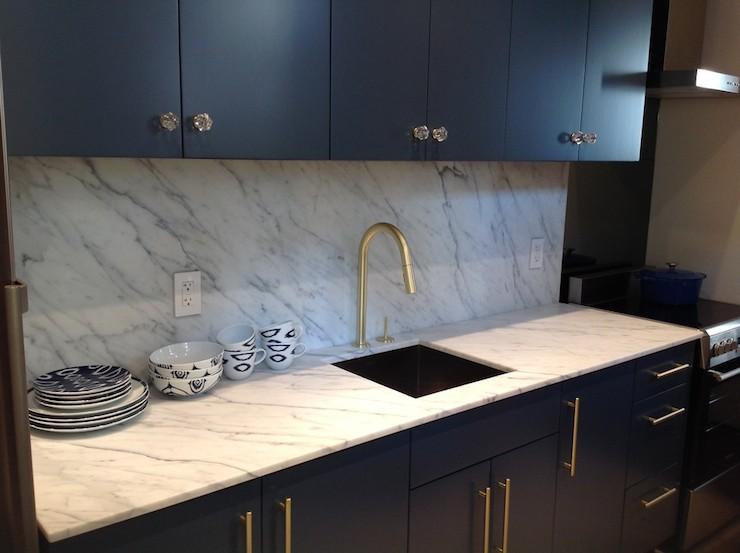 Statuarietto Vintage Marble Contemporary Kitchen