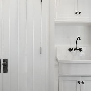 Black And White Laundry Room Vintage Laundry Room