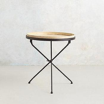 Tripod Side Table I anthropologie.com