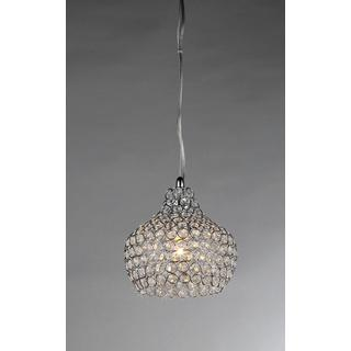 Lighting - Kiss Crystal Chandelier | Overstock.com - beaded crystal pendant, beaded crystal chandelier, small crystal chandelier, contemporary crystal chandelier,