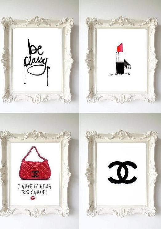 4 Chanel Dream Prefume Original Illustration By